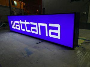 ป้ายบริษัท WATTANA