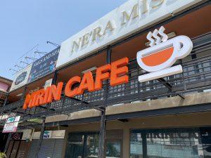 ป้ายไฟร้าน MIRIN CAFE